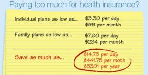 Compare California Health Insurance Rates